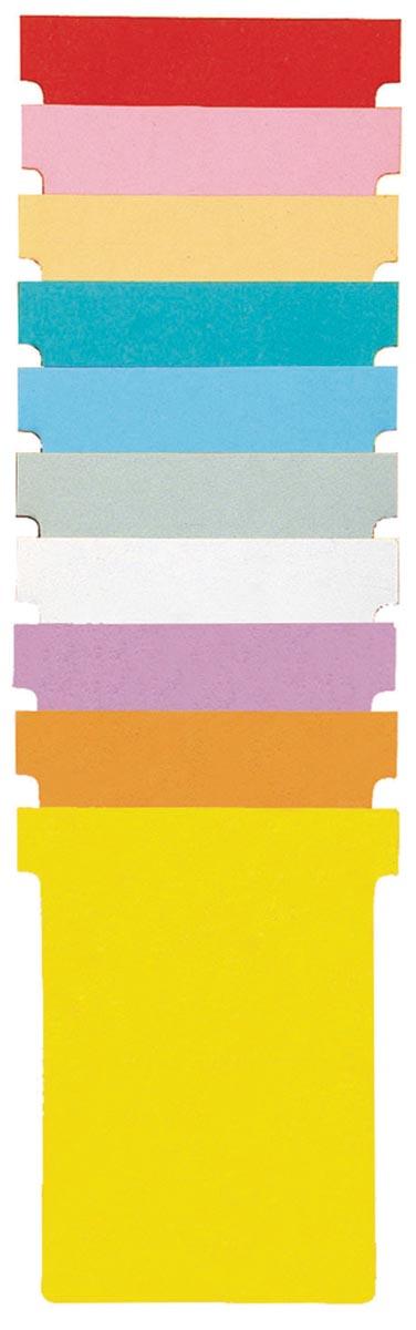 Nobo T-planbordkaarten index 1,5, ft 53 x 45 mm, wit