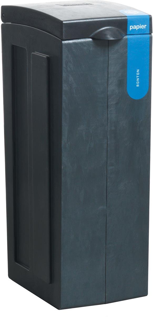 Bonton afvalbox Papier, 70 liter