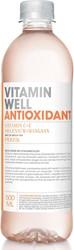 Vitamin Well vitaminewater Peach, flesje van 0,5 L, pak van 12