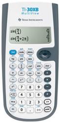 Texas wetenschappelijke rekenmachine TI-30XB Multiview, werkt op batterijen