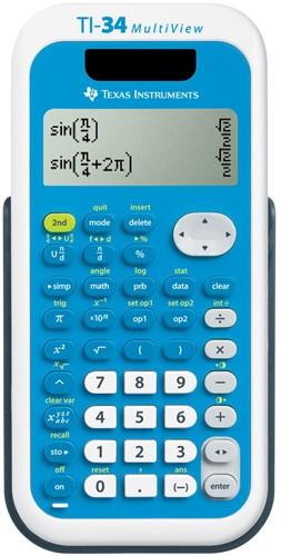 Texas wetenschappelijke rekenmachine TI-34 Multiview