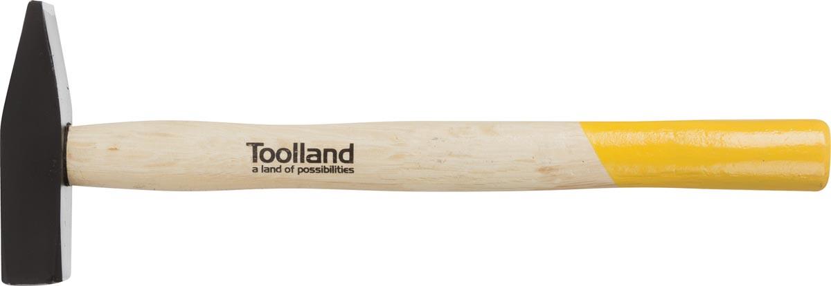 Toolland hamer met houten handgreep, 300 g