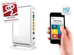 Sitecom router X7 AC1200 Wi-Fi Dual-band
