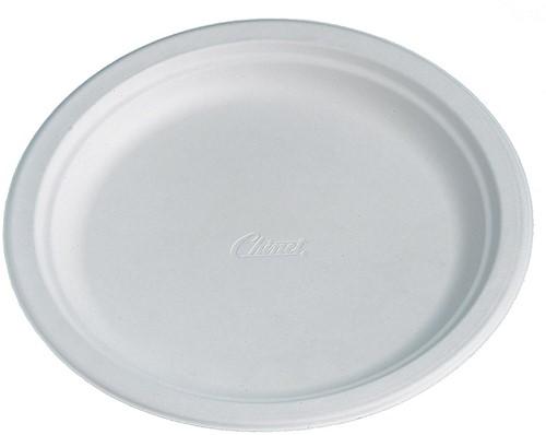Bord, wit, diameter 24 cm, pak van 100 stuks-2