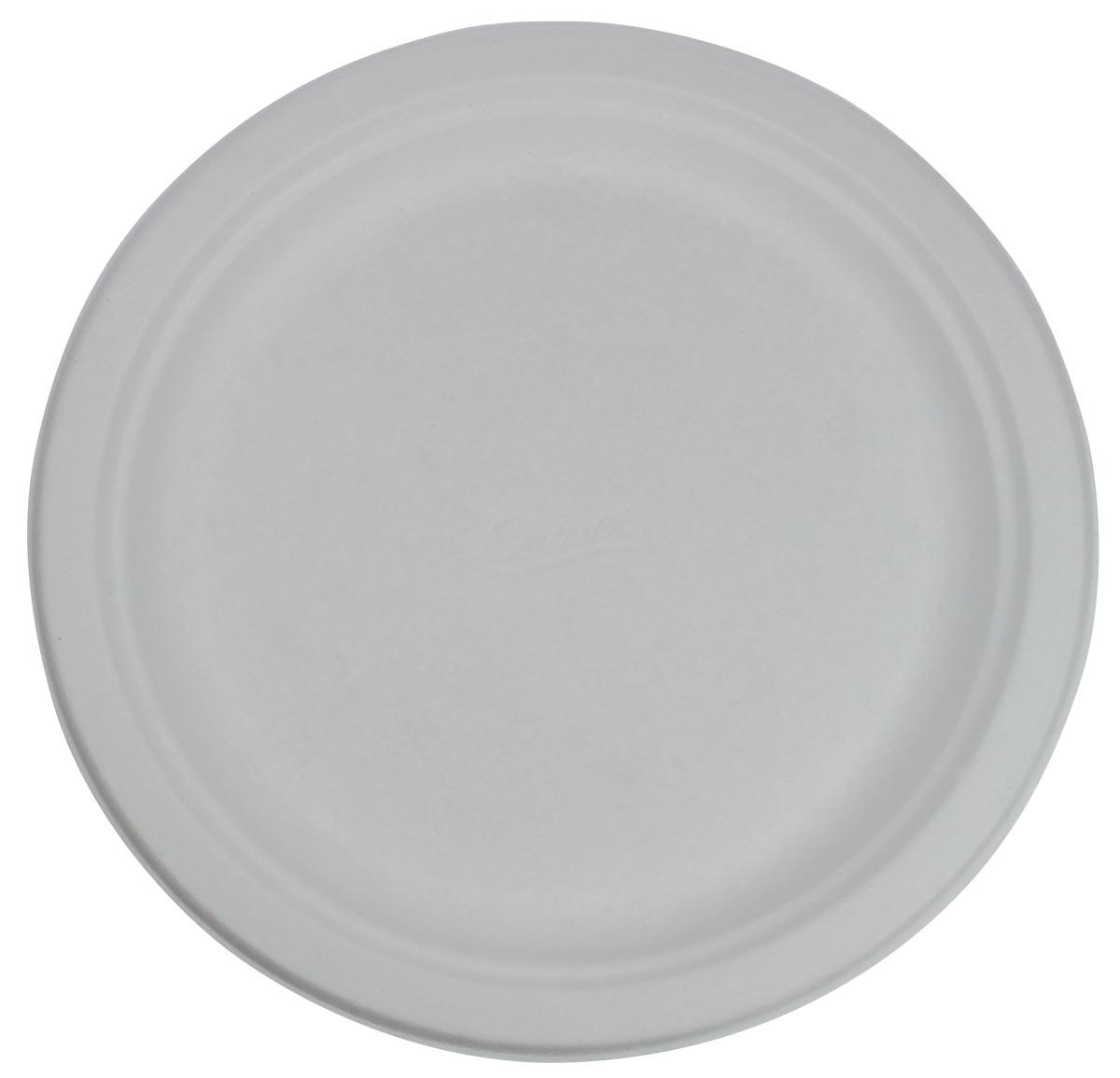 Bord, wit, diameter 24 cm, pak van 100 stuks